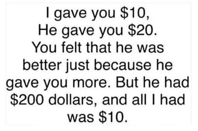 Money Matters Quote